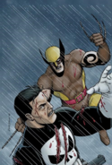 The Punisher vs. Daken