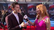 Tom Holland Talks Spider-Man on Marvel's Captain America Civil War Red Carpet Premiere