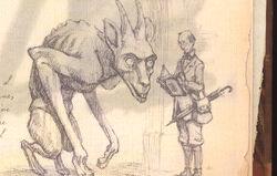 Arthur & Greater Gargoyle
