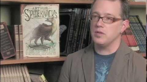 """Tony DiTerlizzi and """"Arthur Spiderwick's Fantastical Field Guide""""-0"""