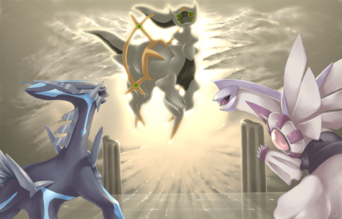 Beginning Dimension Arceus by purplekecleon