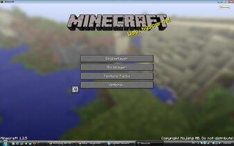 MinecraftTitleScreen
