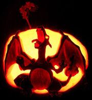 Pumpkin charizard