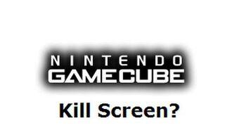 Nintendo GameCube - Unknown Creepy Kill Screen?