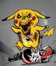 BLACKEST NIGHT pokemon pikachu by TomG0