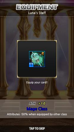 Luna's staff