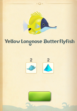 Yellow Longnose Butterflyfish§Aquapedia