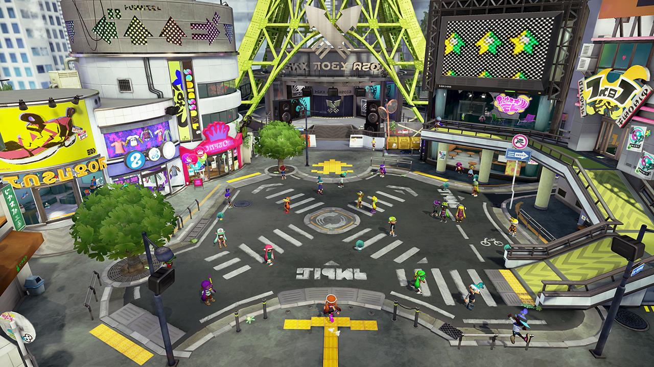 inkopolis plaza splatoon wiki fandom powered by wikia