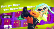 Octostomp's Victory Screen
