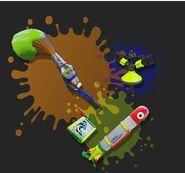 Brush-sprinkler-rocket