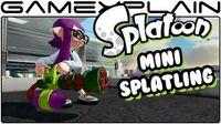 Splatoon - Mini Splatling DLC Weapon Tour!