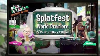 Splatfest Demo Coming BEFORE Splatoon 2's Release - Cake vs Ice Cream!
