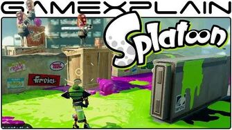 Splatoon - Story Mode Level 1 Octotrooper Hideout (1080p60fps - Single-Player)