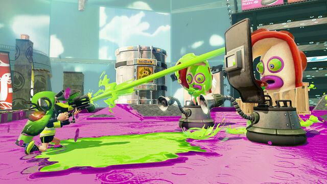 File:WiiU Splatoon 050715 screen Enemy 04 TakolienShield-1024x577.jpg