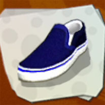 Shoes Blue Plimsolls