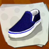 Datei:Shoes Blue Plimsolls.jpg