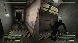 Splinter Cell Chaos Theory PS2 PCSX2 HD Walkthrough Прохождение – Миссия Обучение