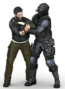 Sam Fisher Krav Maga