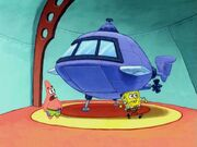 Patrick, Spongebob, & The Shrinkable Submarine