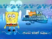 SpongeBob's Atlantis Squarepantis title screen