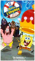 The SpongeBob SquarePants Movie French VHS