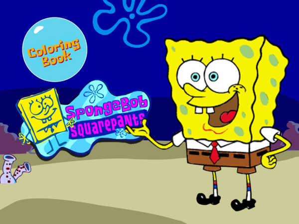 Nick Spongebob Coloring Book GameSpongebobPrintable Coloring