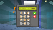 SpongeBob, You're Fired! (online game) - Enter Access Code