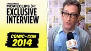 Tom Kenny 'The SpongeBob Movie Sponge Out of Water' Exclusive Interview Comic-Con (2014) HD
