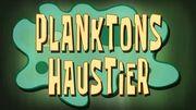 186b. Planktons Haustier