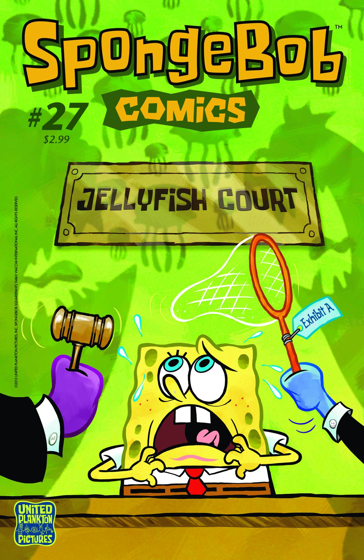 spongebob comics no 27 encyclopedia spongebobia fandom