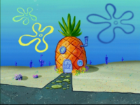 SpongeBob's pineapple house