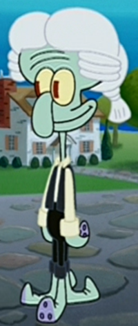 Squidward as a Colonist
