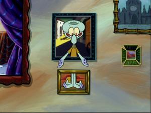 Squidward's song in Atlantis SquarePantis