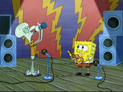 Hello Bikini Bottom performing