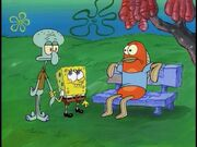 Squidward, Spongebob, & Frank