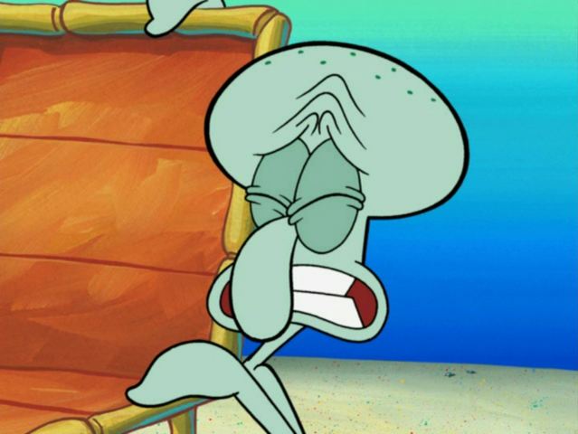 File:Squidward Tentacles in Sun Bleached-8.png