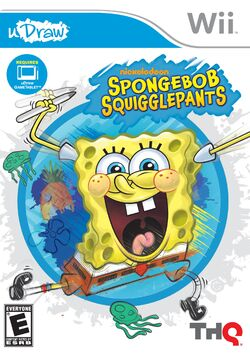 Spongebob SquigglePants Video Game cover