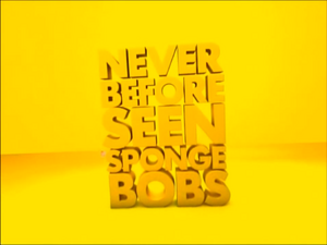 Never Before Seen SpongeBobs