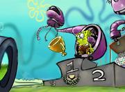 SpongeBob captured by Alien Jellyfish