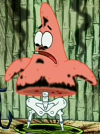 Patrick with Exploded Lower Half