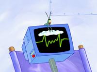 SpongeBob SquarePants Karen the Computer Sunscreen