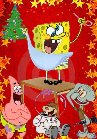 File:Embarrassing-Snapshot-of-SpongeBob-at-the-Christmas-Party-spongebob-squarepants-7882830-350-500.jpg
