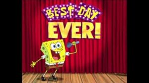 SpongeBob in Welsh - The Best Day Ever
