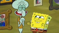 Spongebob and squidward are you happy now?
