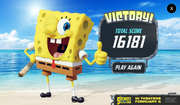 The SpongeBob Movie - Sponge Out of Water - Save the Krabby Patty - Victory!