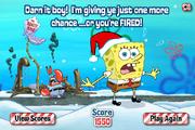 Merry Mayhem! - Lose screen