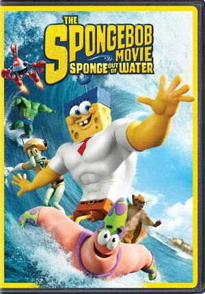 The SpongeBob Movie - Sponge Out of Water normal DVD