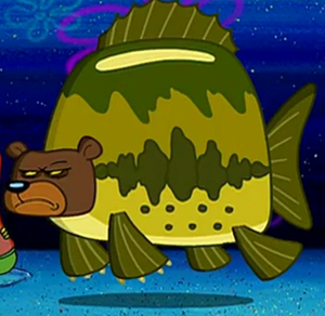 Sea Bear in The Camping Episode