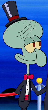 SPO Fancy Squidward