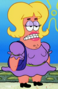 Patrick as a Female